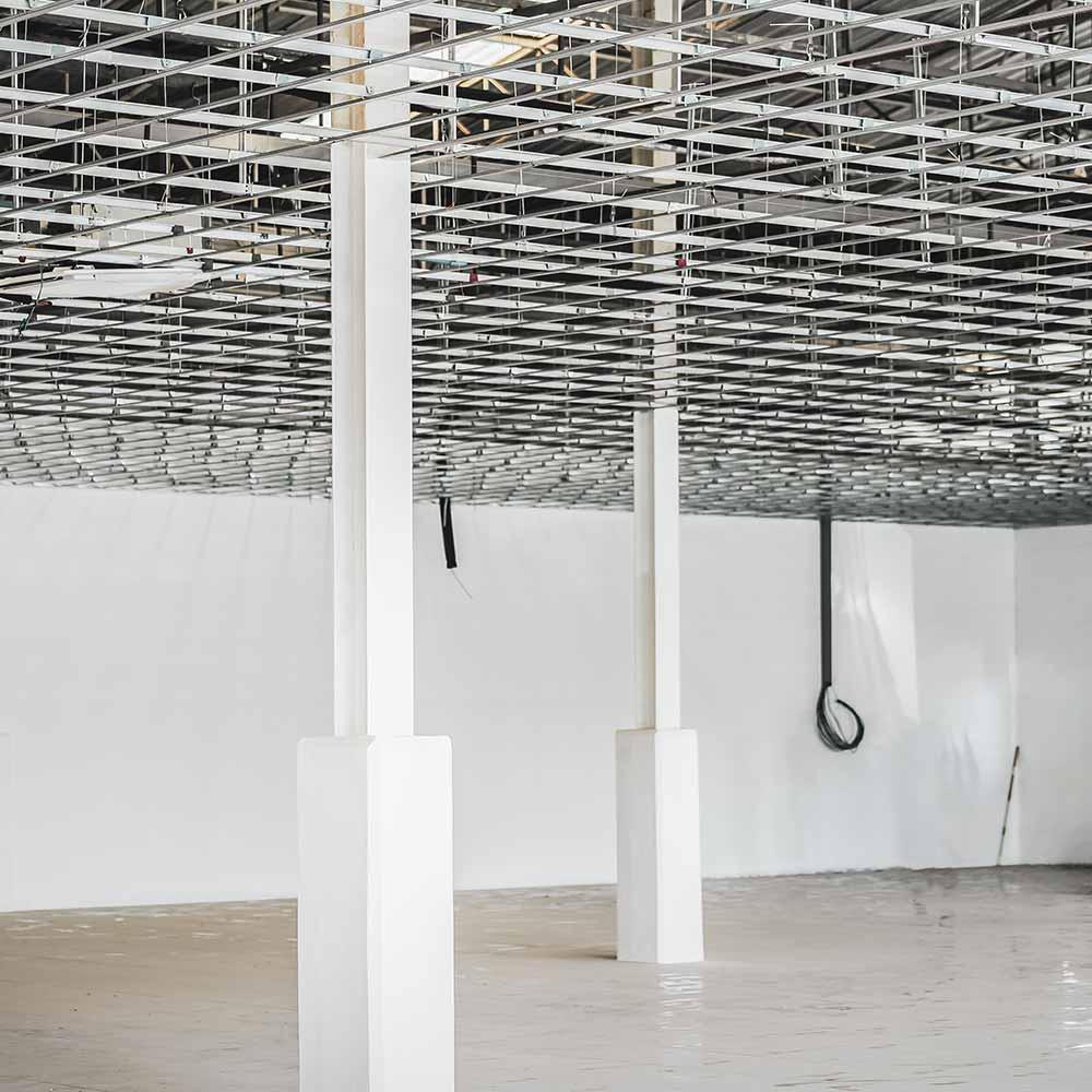 Regulierung der Raumhöhe-Deckenarbeiten Raumhöhe LuMonte